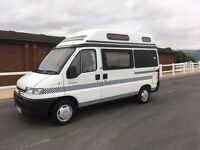 1998 PEUGEOT SYMPHONY AUTOSLEEPER 28,000 MILES FROM NEW-NEW MOT AND HABITATION CHECK
