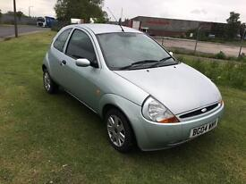 04 REG FORD KA 1.3 3DR-LOW MILES-12 MONTHS MOT-IDEAL 1ST CAR-LOOKS AND DRIVES WELL