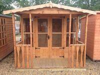 Summerhouse with 3' Veranda