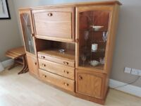 Dining Table, Chairs, Nest of Tables & Drinks Cabinet