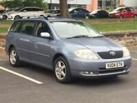 2004 TOYOTA COROLLA ESTATE 1.6 PETROL * 1 F/KEEPER * GOOD RUNNER * PART EX * DELIVERY *