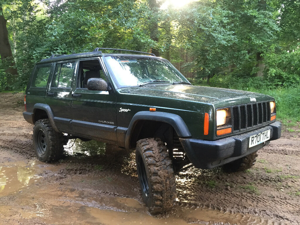 jeep cherokee 2 5 td manual xj 4x4 off road green laning in bury st edmunds suffolk gumtree. Black Bedroom Furniture Sets. Home Design Ideas