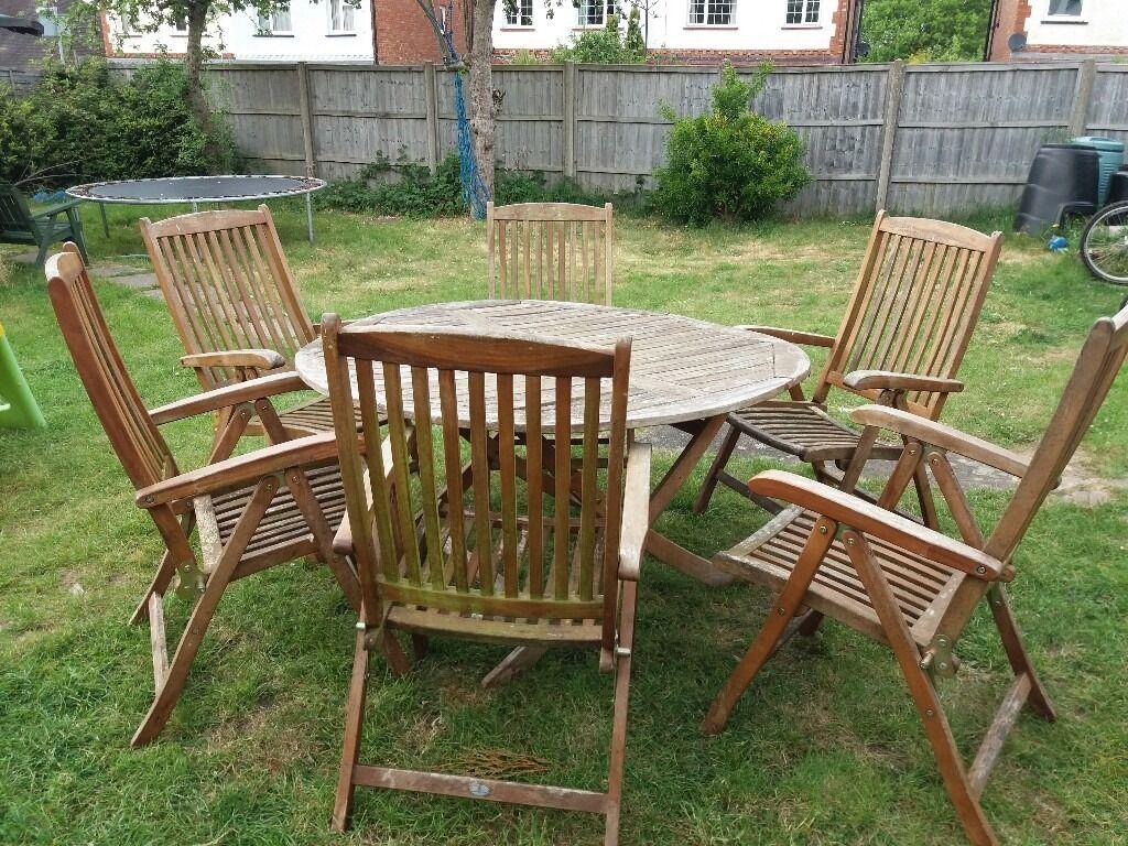Alexandra rose teak garden set redhill