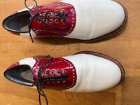 Vintage Footjoy Classics Dry Premier Golf Shoes
