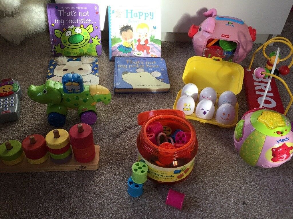 Toddler Toy Bundle - from 9 months