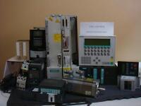 Siemens PLC,CNC m/c,drives Services and parts