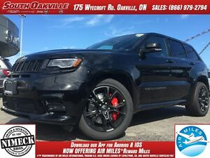 2017 Jeep Grand Cherokee SRT   4WD   $208+TAX WEEKLY   ONE OWNER