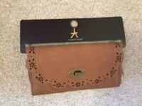 Atmosphere brown long purse BNWT