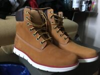 mens brand new timberlands wheat unworn size 9 f