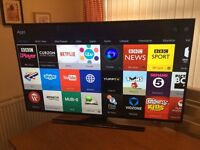 "55"" SAMSUNG Smart UHD (4k) LED TV -FREEVIEW HD -WIFI -1000hz -QUAD CORE - WARRANTY"