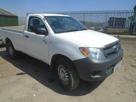 4x4 toyota hilux single cab pick up