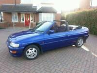 Ford ESCORT SI, 1994 (L) Convertible, Manual Petrol, low 34,000 miles,