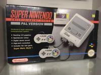 Nintendo snes Super Nintendo boxed fantastic condition