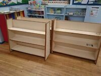 7x wooden shelves (selling to raise money for the school)