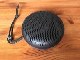 Bang & Olufsen Beoplay A1 portable bluetooth speaker black, new, rrp £200