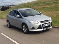 2012 Ford Focus 1.6 TDCi 5dr diesel silver new shape **1 owner**20 year tax NOT astra A3 GOLF LEON