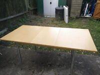 John Lewis Extendable Wood effect table