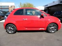 Fiat 500 S (red) 2014