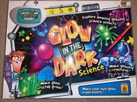Glow in the Dark Science for kids, boxed