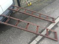 Heavy duty ramps (cars/vans/trailer/Lawnmower/tractor/recovery/quad/digger)