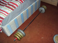 Solid Barbell{7kg} With Weights