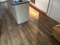 Laminate flooring , tiles , natural stone , marble , granit (kitchen,bathroom,hallway)Fitters