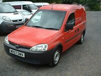 COMBO 2007 1.3CDTI ONE OWNER FSH DIRECT FROM R-MAIL £1795 NO-VAT
