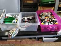 Big job lot of lego including a train set