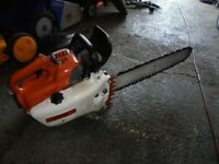 STIHL 08 S CHAINSAW.