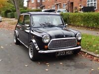 Rover Mini Mayfair Midnight Blue 1992