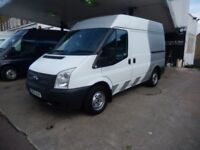 FORD TRANSIT SWB MED ROOF 2012 12 PLATE 121K MILES FSH 1 OWNER AIR CON + EXTRAS £5750 PLUS VAT