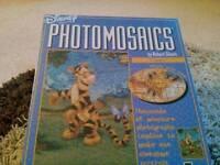 TWO DISNEY PHOTOMOSAICS JIGSAW PUZZLES - NEW