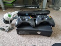 Xbox 360 with hand consoles and much more. Excellent condition