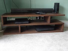 COFFEE TABLE / TV STAND OAK VENEER from Furniture Village