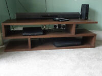 COFFEE TABLE / TV STAND OAK VENEER from Furniture Village