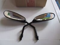 MOTORCYCLE MIRRORS 10MM THREAD