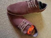 Size 11 suede shoes