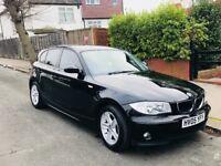 BMW 118D 1 Series, Manual Black Mint Condition