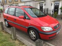 Vauxhall Zafira 1.8 2003