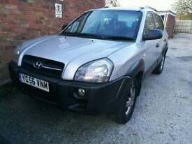 Hyundai tucson for sale or swap