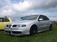 Mk1 Seat Leon Cupra With Fault