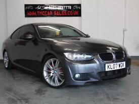 BMW 3 SERIES 2.0 320D M SPORT 2d 175 BHP SAT NAV (grey) 2007