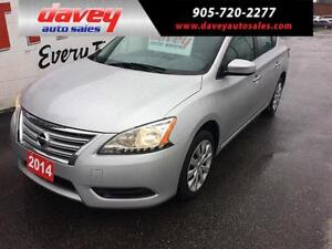 2014 Nissan Sentra 1.8 S LOW MONTHLY OR BIWEEKLY PAYMENTS