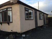 Static mobile home caravan