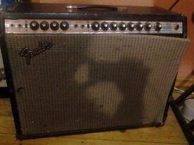 1976 Fender twin reverb amp.