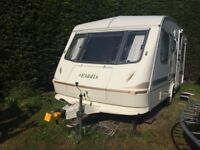 5 Berth Eldiss Prosperous Touring Caravan, great condition, NO DAMP very clean