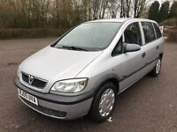 Vauxhall Zafira 1.6 i 16v Life 5dr 2005+7SEATER+FSH+VGC+1YRS MOT