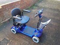 Mobility Scooter - Rascal eco4 - compact and folds up easily to fit in car boot £425
