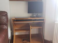 Computer Desk (on wheels) - as good as new!