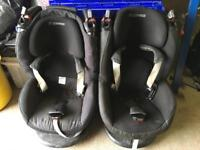 Pair of Maxi Cosi Tobi car seat